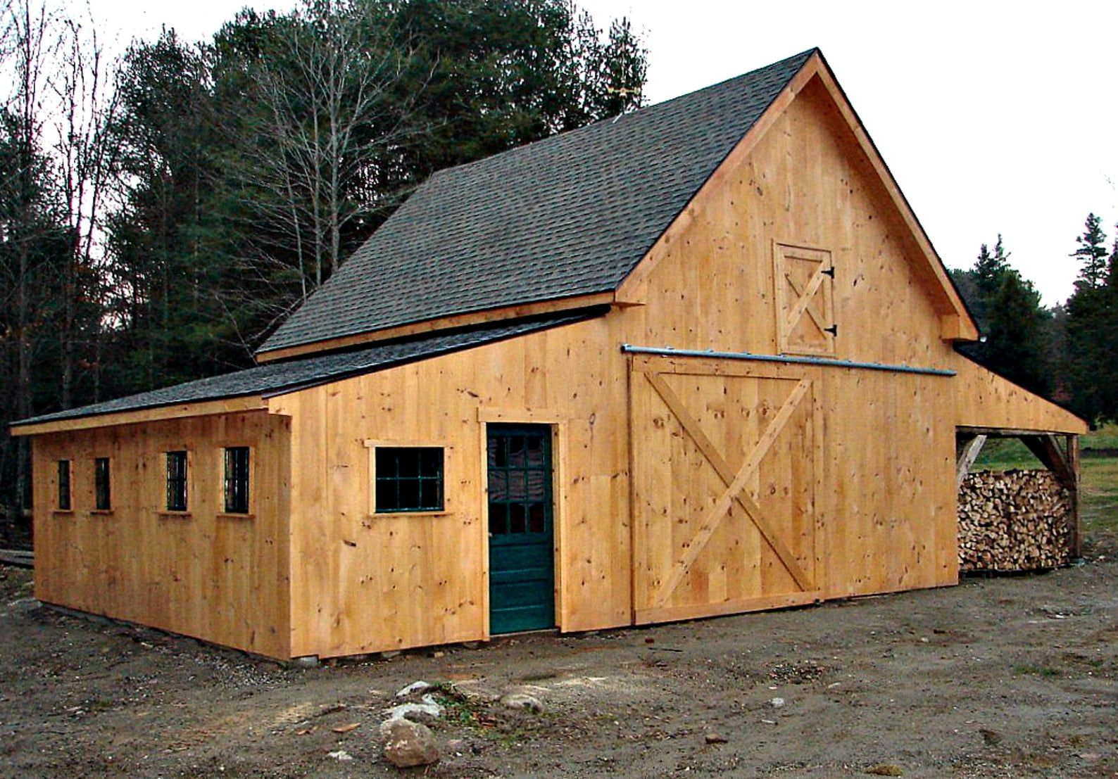 41 Small Barn Designs Forty One Optional Layouts Complete Etsy In 2021 Barn Construction Backyard Barn Building A Pole Barn