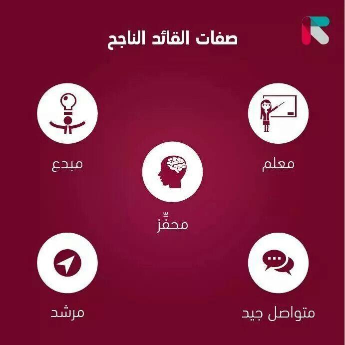 صفات القائد الناجح Study Skills Words Life Quotes