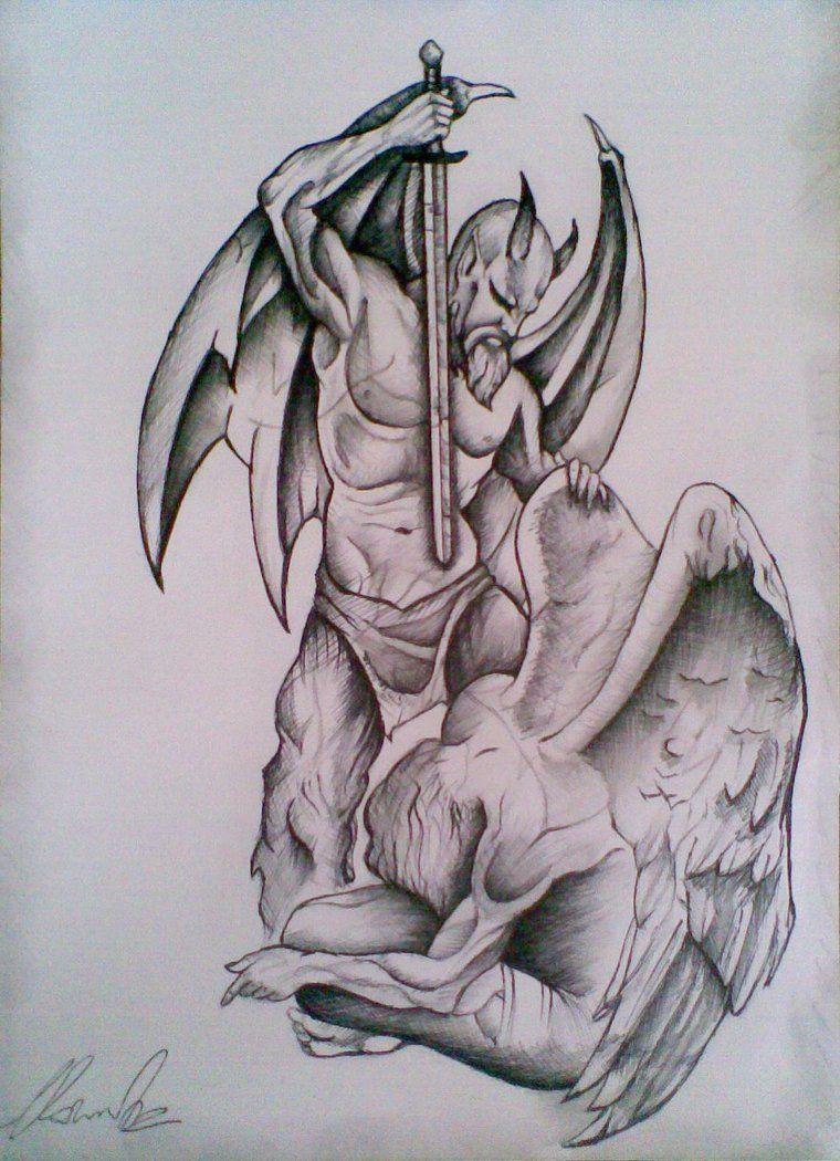 Prison Break Tattoo Angel