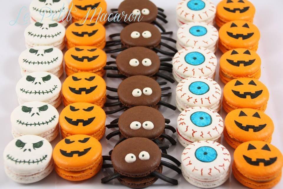Halloween macarons Le Petit Macaron #halloweenmacarons
