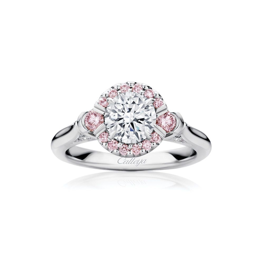 10a4772bc02e4 Marlena White and Argyle Pink Diamond Ring | Trang sức in 2019 ...
