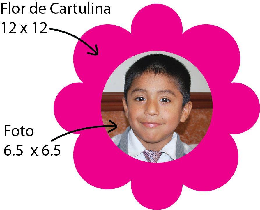 Molde de flor para el arreglo floral =D
