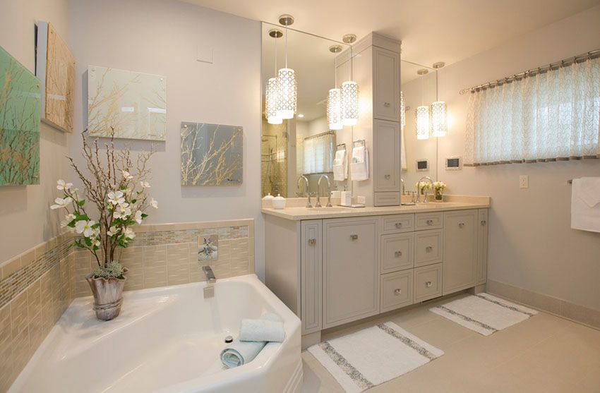 Beautiful Bathroom Pendant Lighting Ideas With Images Bathroom Pendant Lighting Bathroom Pendant Modern Bathroom Decor