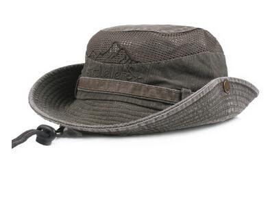 dcec4da1 Geersidan Men'S Bob Bucket Hats Fishing Wide Brim Hat Uv Protection Cap Men  Sombrero Gorro Sun Hat For Men