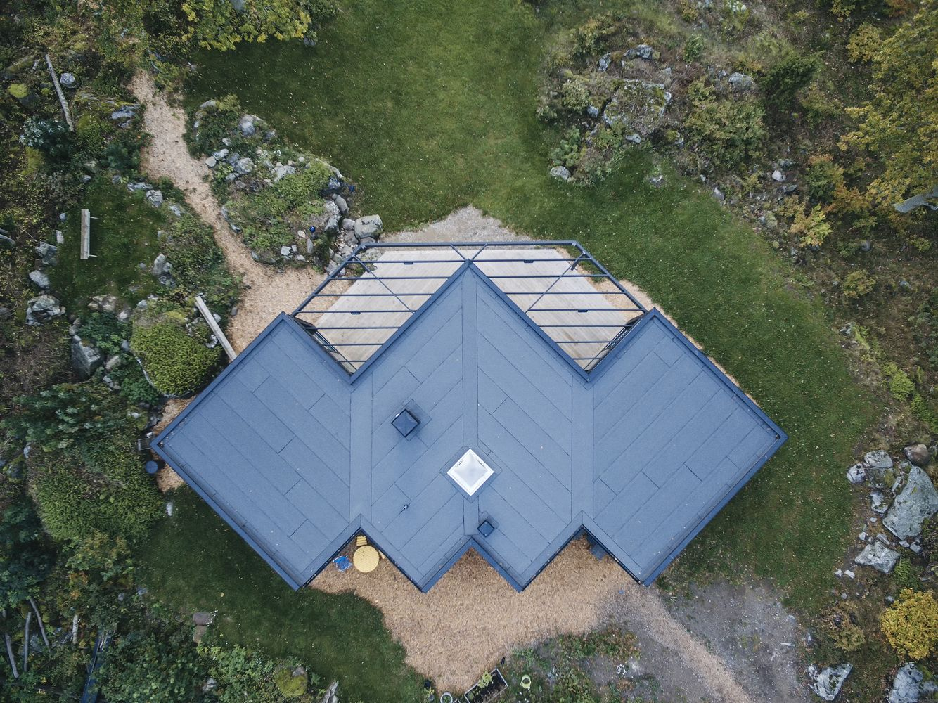 Gallery Of Villa G Andre Pihl 10 Metal Roof Modern Roofing Roof Architecture