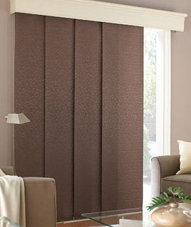 Designer Elements Blackout Panel Track Patio Door Coverings