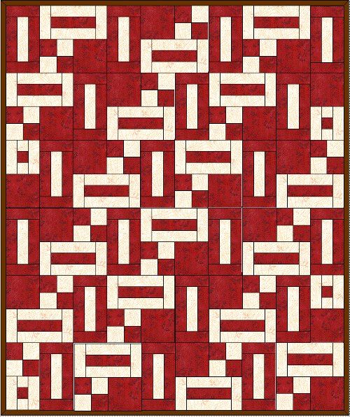 free 2 color quilt patterns | ... distractions to write ...
