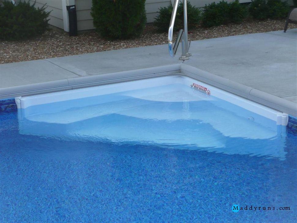 Swimming Pool Swimming Pool Steps Inground Retrofit Swimming Pool