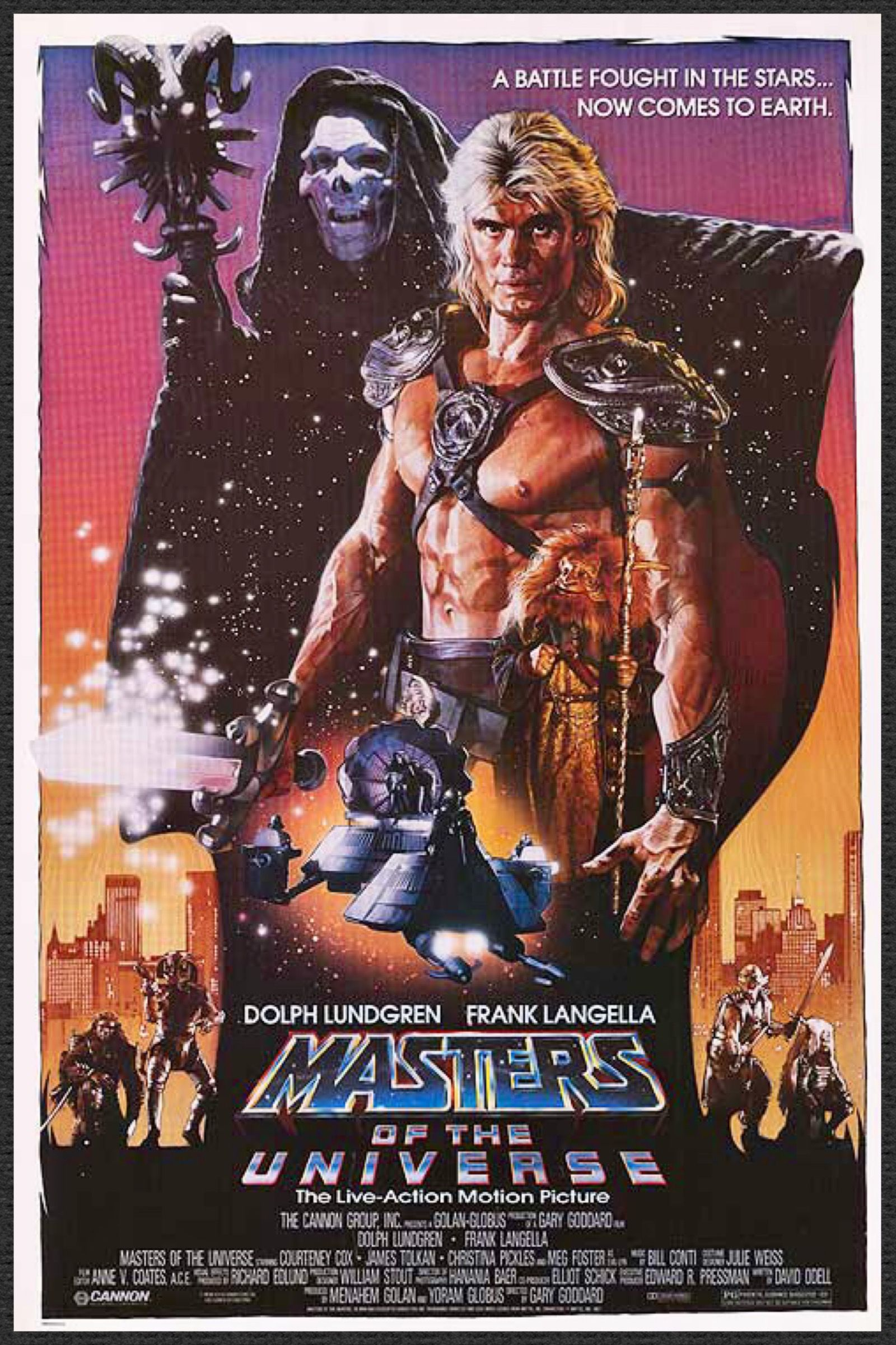 He Man Masters of the Universe Dolph Lundgren Awesome Poster