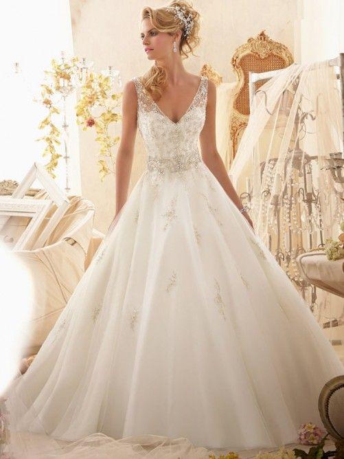 Brautkleid Duchesse Linie | Wedding | Pinterest | Organza wedding ...