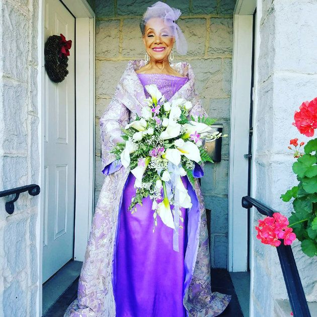 This Stylish 86-Year-Old Grandma Just Got Married And