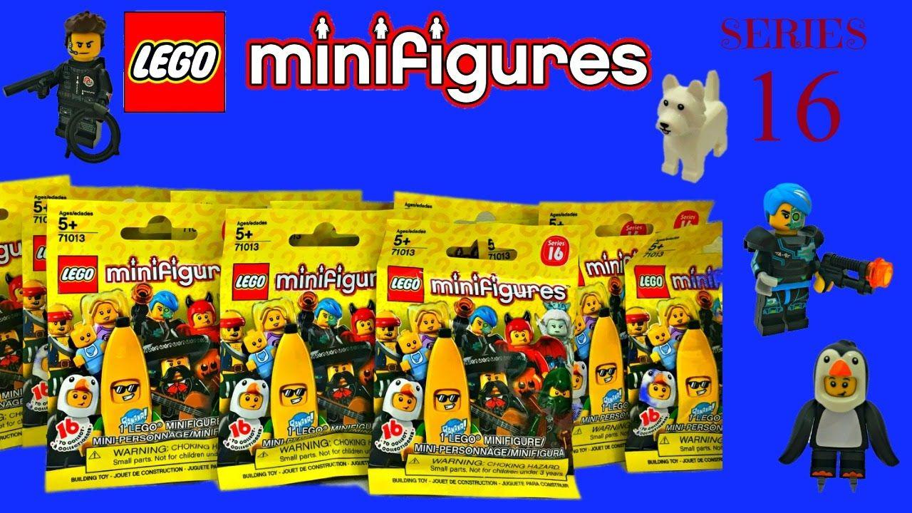 Lego Minifigures Series 16 Surprise Blind Bags Stop Motion