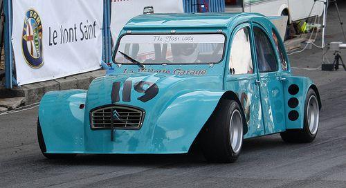 Deux race-car