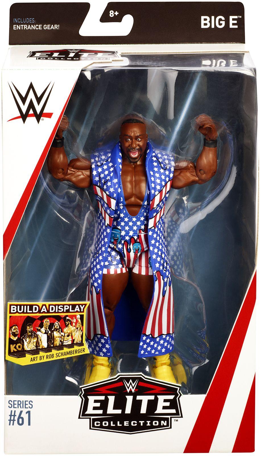 WWF WWE Elite Mattel lucha libre figura MOC Rare Ricochet serie 69 Nuevo