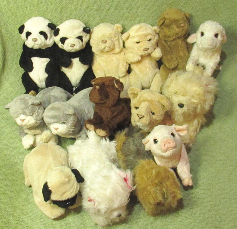 15 Furreal Friends Babies Cubs Panda Lamb Piglet Puppies Kittens Untested Lot Fur Real Friends Baby Cubs Kittens