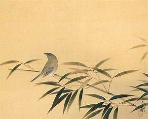 Image result for Japanese art with nightingale