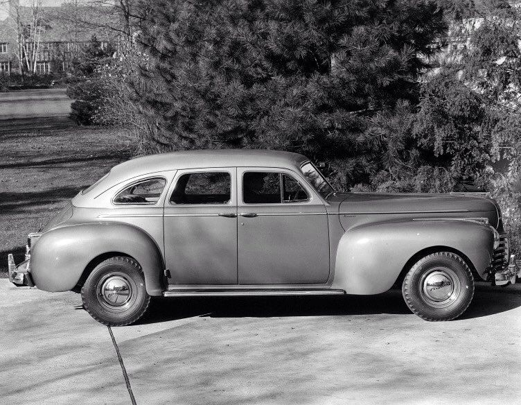 Step Back In Time With This 1941 Chrysler Saratoga Tbt