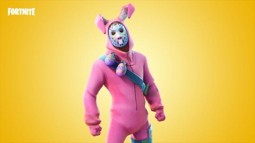 Rabbit Raider Jonesy Fortnite Battle Royale Video Game
