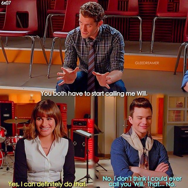 """#Glee 6x07 """"Transitioning"""" - Will, Rachel and Kurt"""