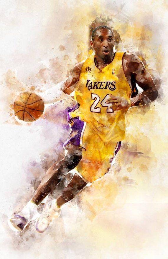 215558217 Kobe Bryant NBA print poster