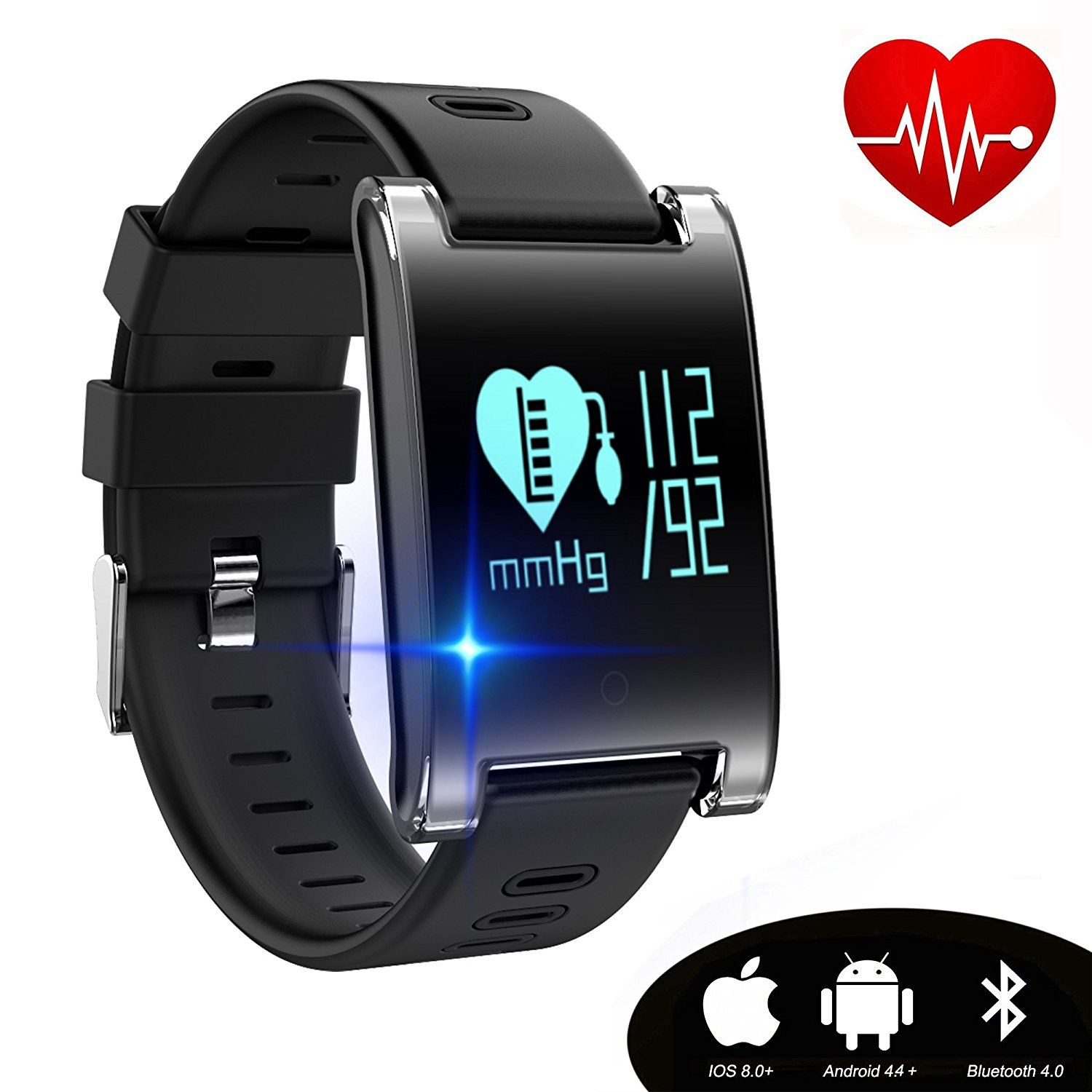 fitness product tracker watches smart globe blood watch monitor wrist heart uk bluetooth shop rate pressure