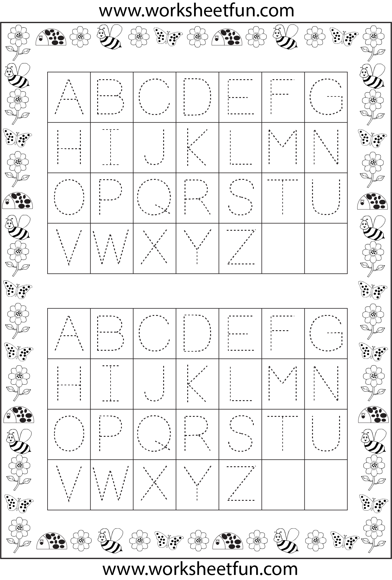 Oodles Of Letter And Number Tracing Sheets