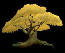 Wildstar Housing - Golden Deciduous Tree