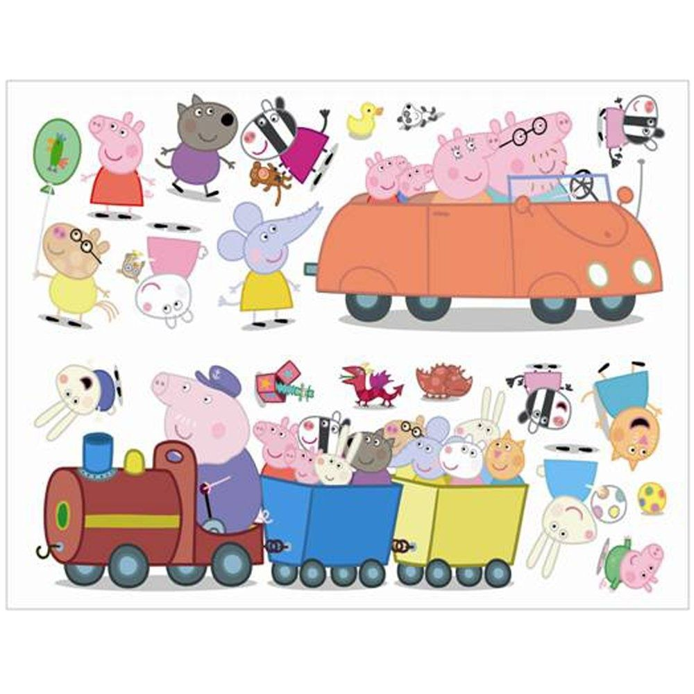 Peppa Pig Wall Stickers Stikarounds (SA10506) Peppa pig