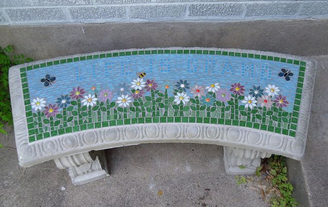 Brilliant Life Is Grand Front Door Bench Mosaic Backsplash Mosaic Inzonedesignstudio Interior Chair Design Inzonedesignstudiocom