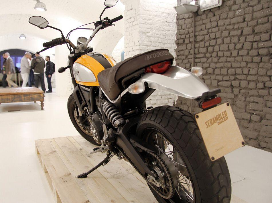 Ducati scrambler contemporary reinterpretation range of
