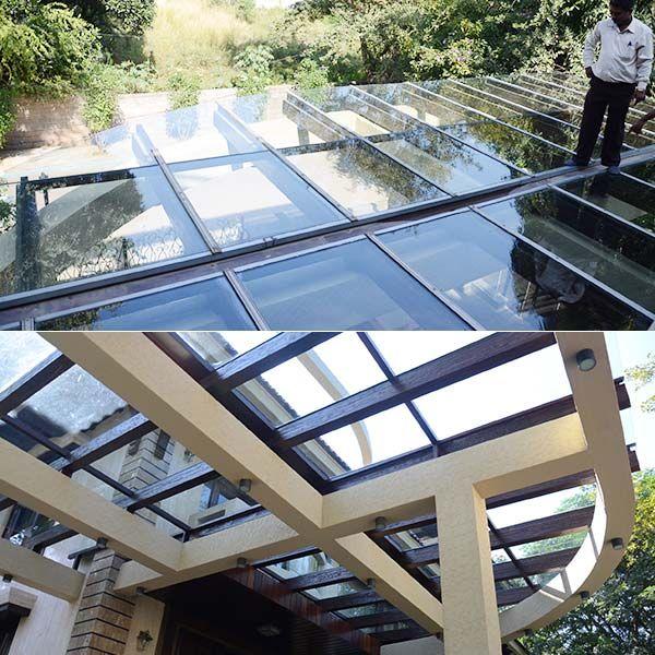 Pergola Designs Glass Roof: Pergola Glass - Drainage