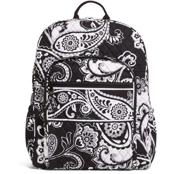 Vera Bradley Campus Backpack in Midnight Paisley ( 109) ❤ liked on Polyvore  featuring bags, backpacks, midnight paisley, paisley bag, vera bradley  backpack ... 681d1ddb72