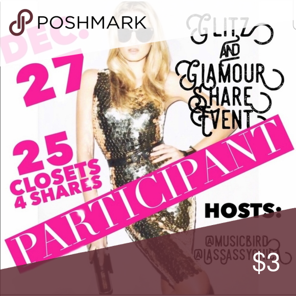 💫Glitz and Glamour Share Event💫