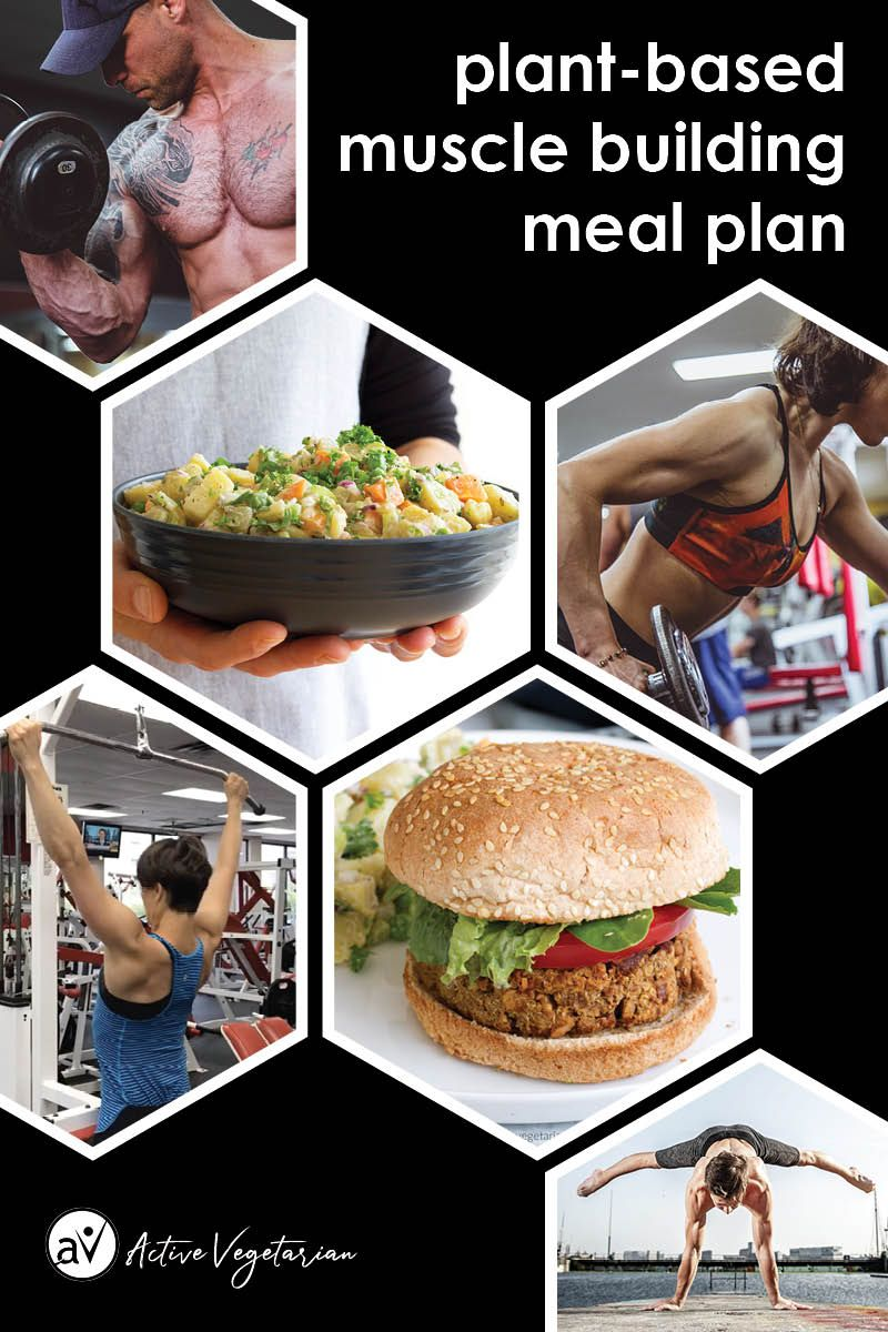 Get a FREE PDF DOWNLOAD for a vegan muscle building meal