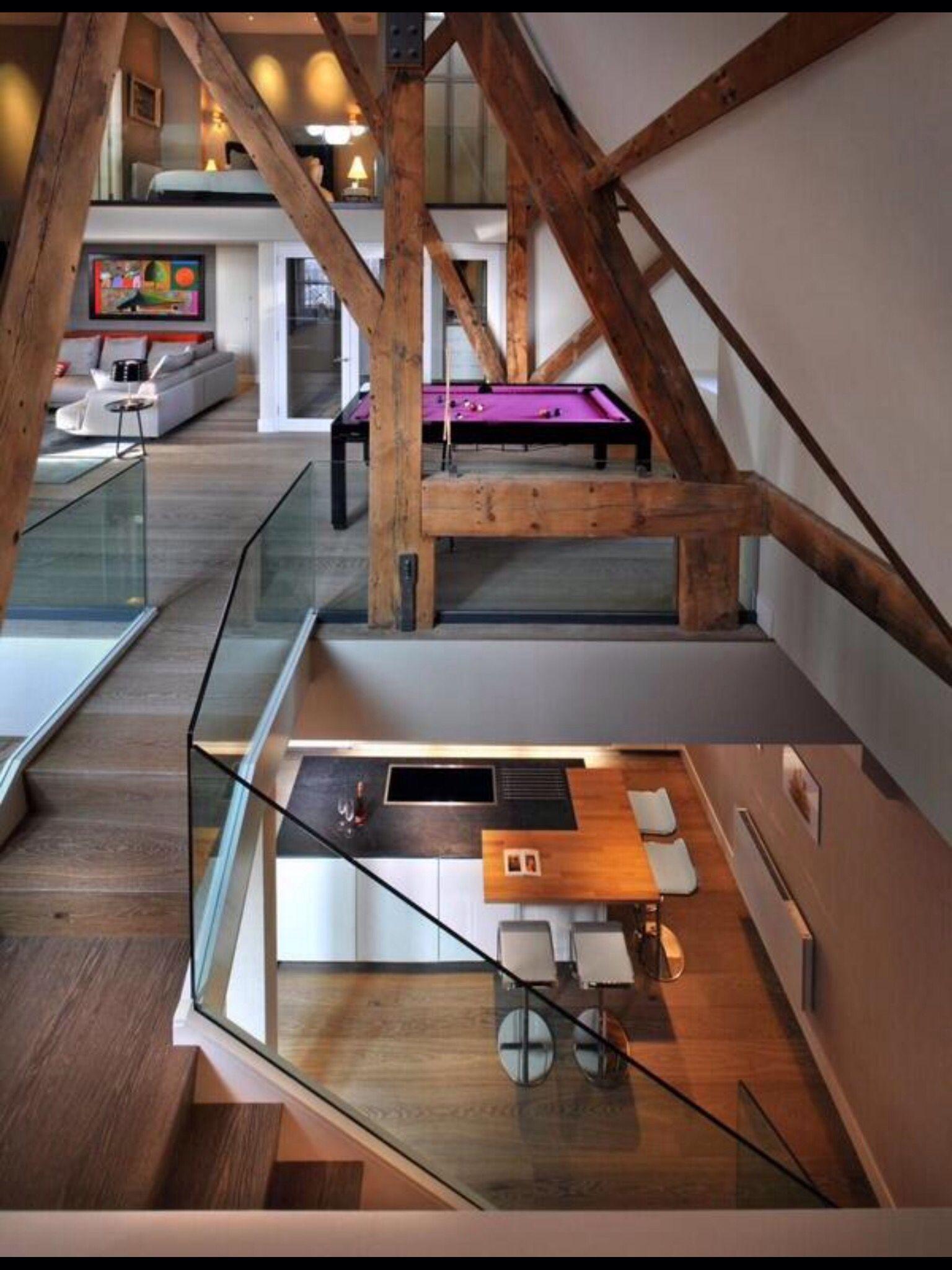 Habitacion Subsuelo Arquitectura Interior Casas Elegantes Disenos De Casas