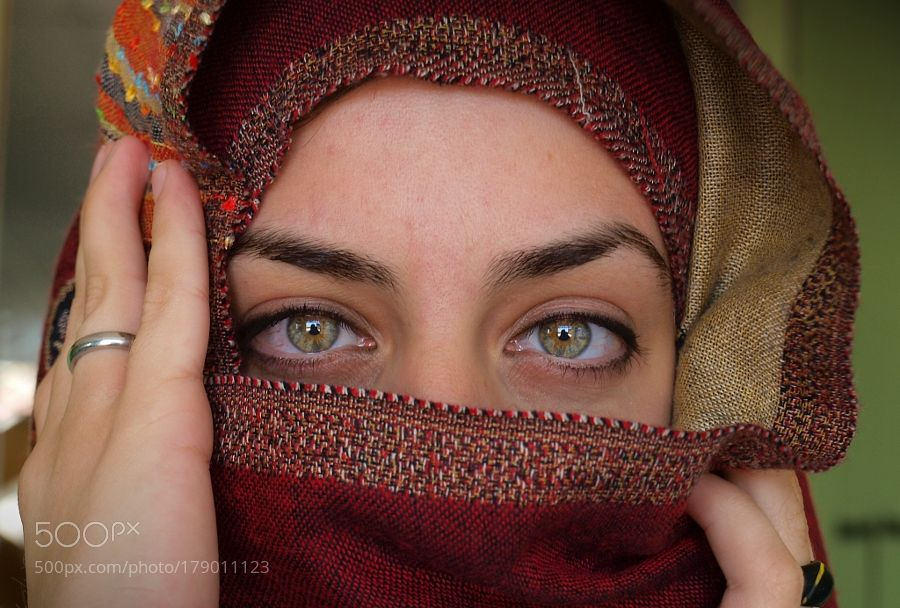 The whole world in her Eyes ! by iliasorfanos1. @go4fotos