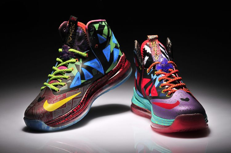 Nike LeBron 10 'What The MVP' Women Basketball Shoes