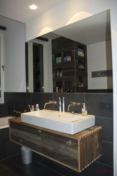 Altholzmöbel badezimmer  Projekt 10 » Altholz - Aus Freude am Original | Altholz ...Das Bad ...
