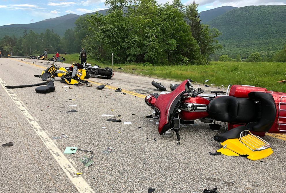 Driver Who Plowed Into Motorcyclists Charged In All 7 Deaths New