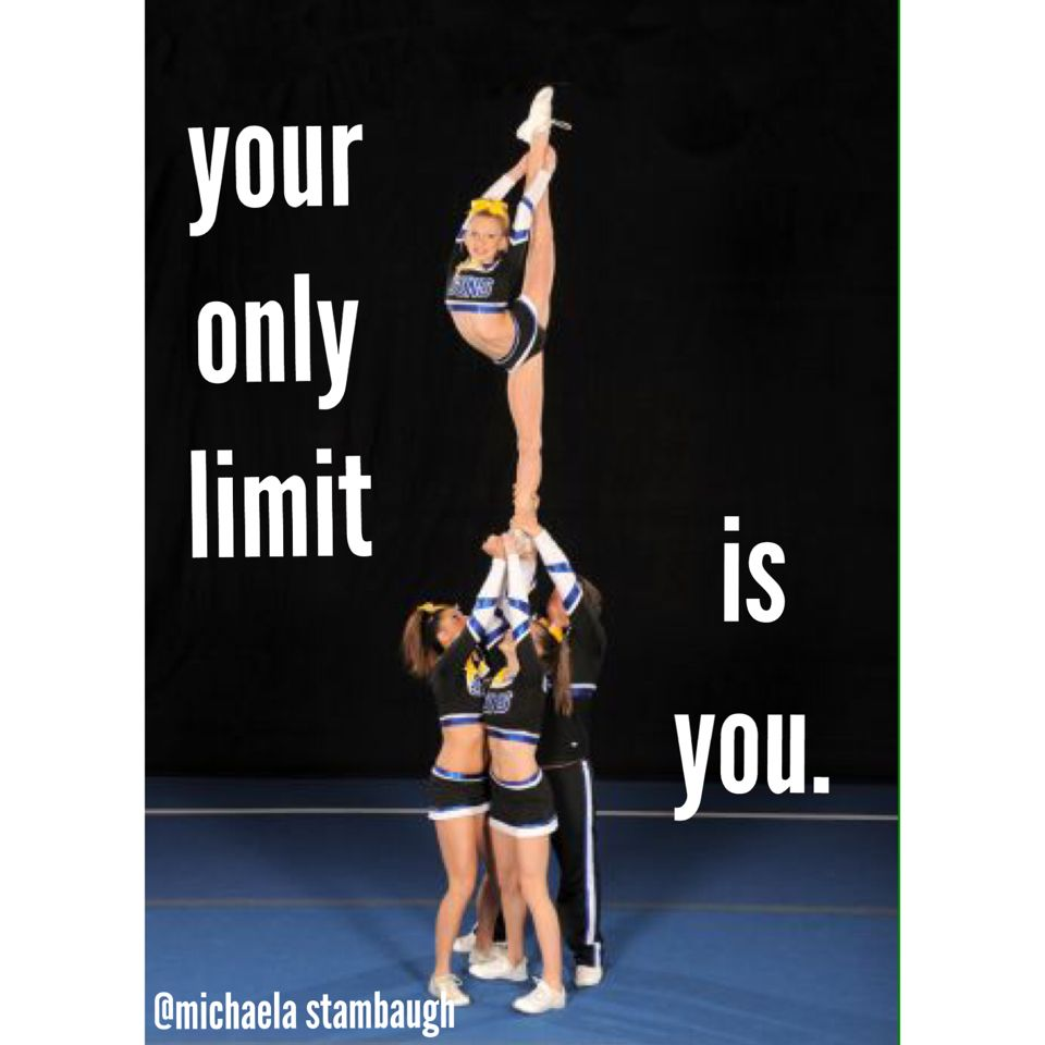 your only limit is you. you can do it.