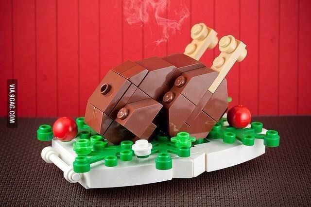 LEGO Roast Turkey