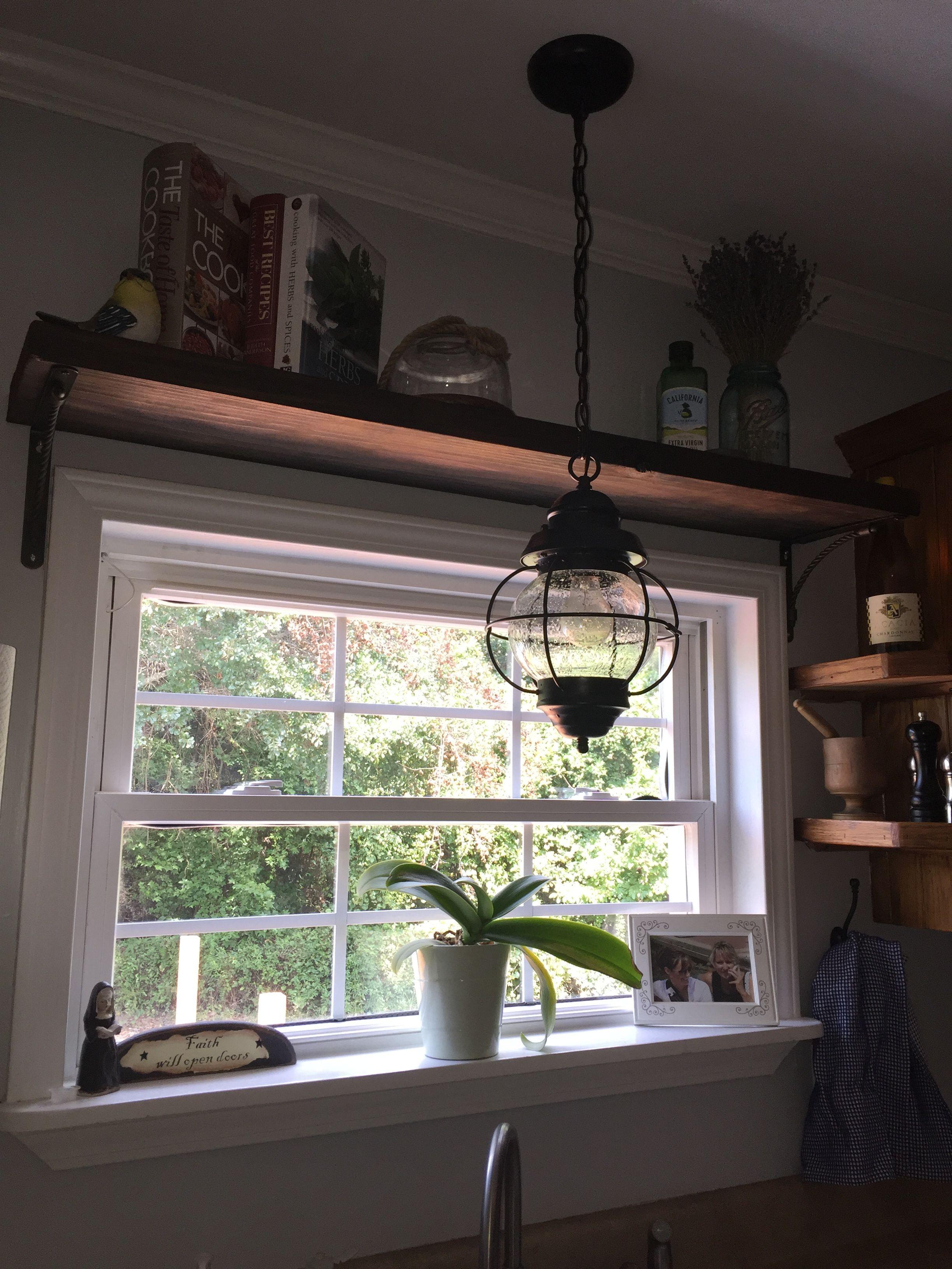 Window above kitchen sink  shelf above kitchen sink window  kitchens  pinterest  kitchen