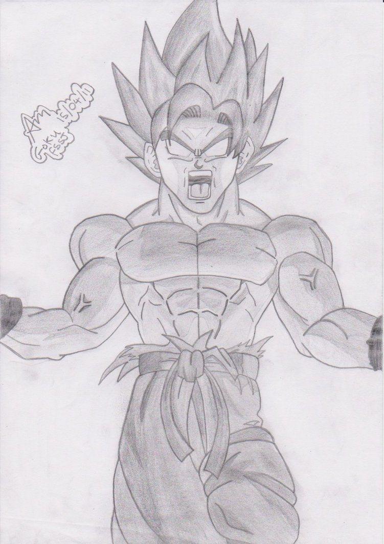 Dragon Ball Z Drawings Of Goku