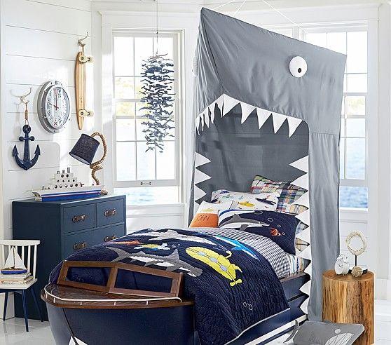 Shark Canopy & Shark Canopy | Home decor ideas | Pinterest | Boy beds Canopy and ...