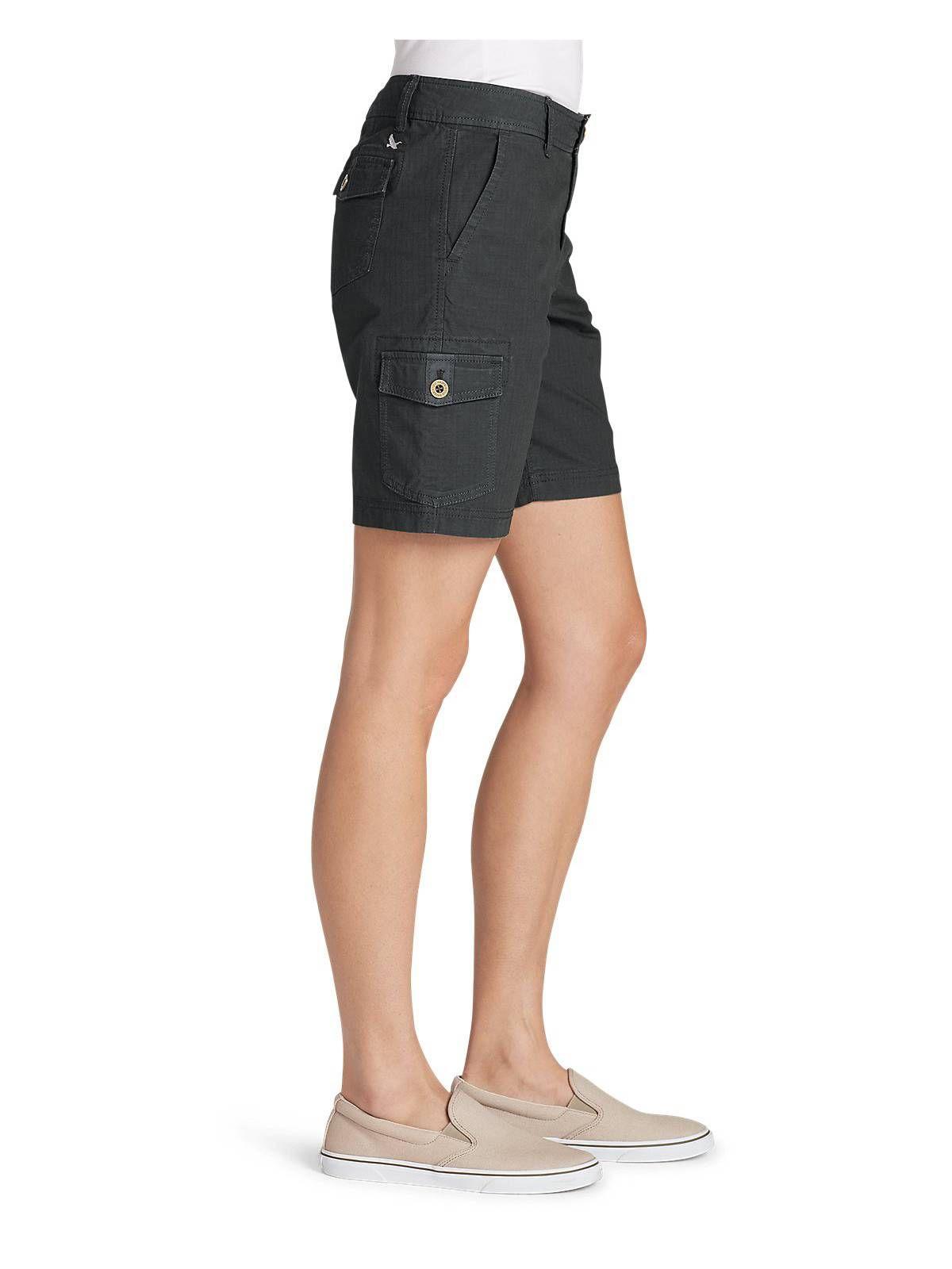 afed424e21 Eddie Bauer Women's Adventurer Stretch Ripstop Cargo Shorts - Slightly  Curvy#Adventurer, #Stretch, #Women