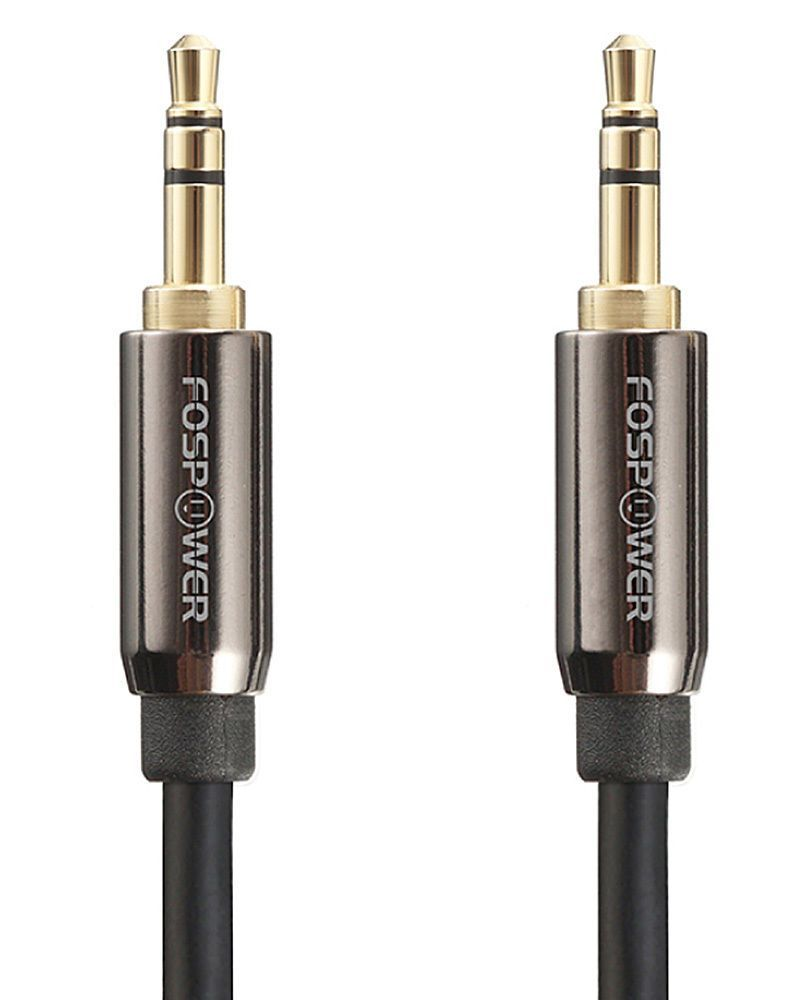 New Gold For Car Stereo Cord Phone Aux Male To  Male For IPod Audio Cable