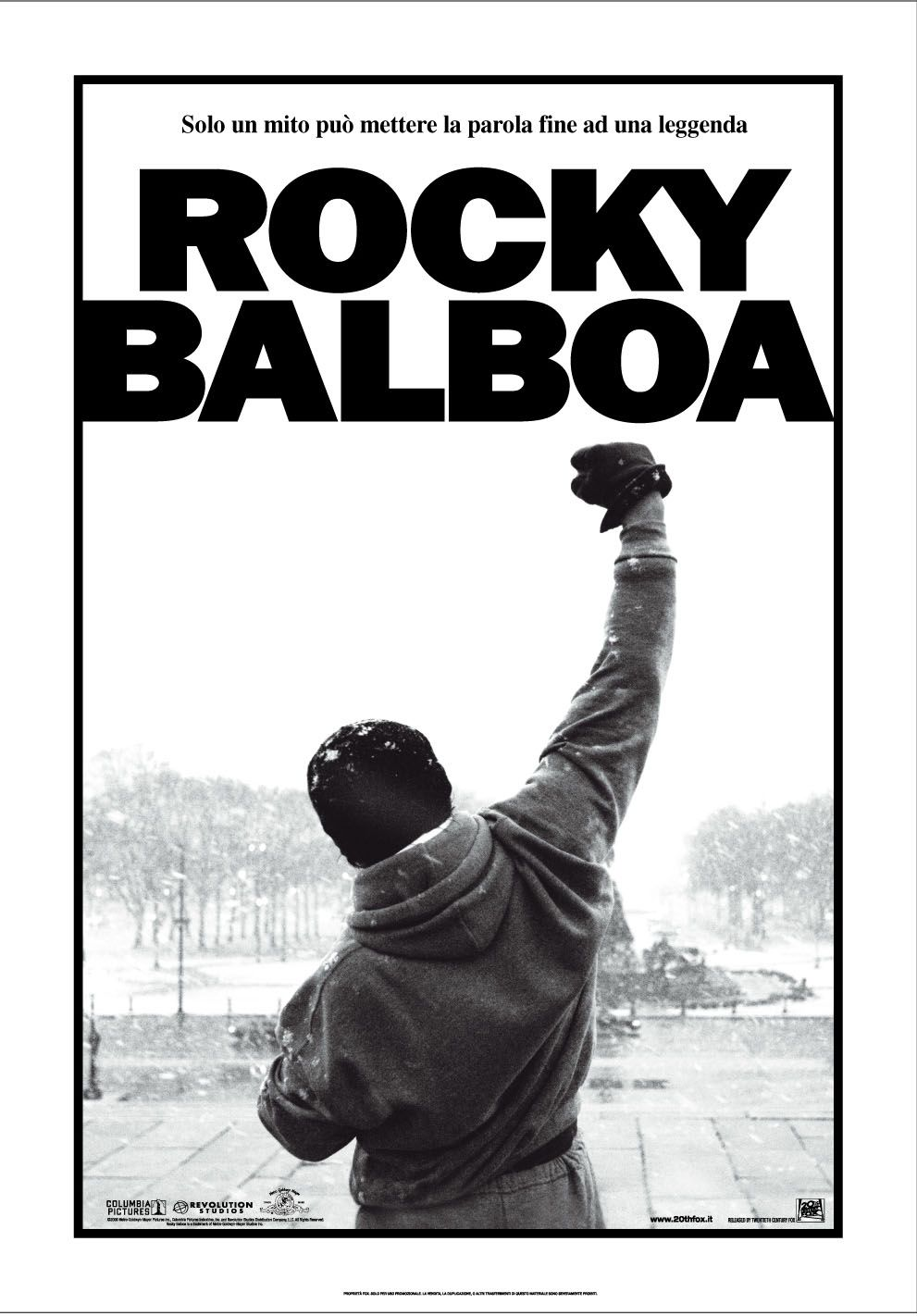 Rockybalboaposterlocandina Rocky Balboa Balboa Film
