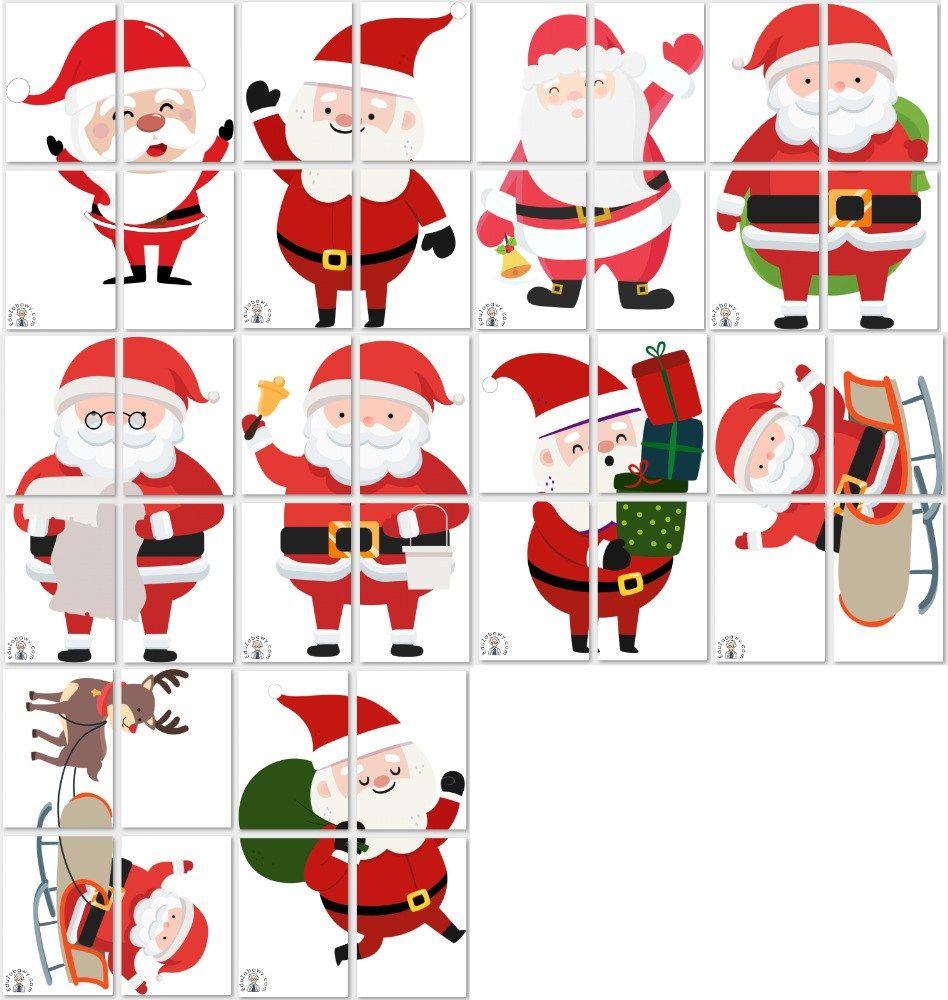 Dekoracje Xxl Swiety Mikolaj Cards Advent Calendar Calendar