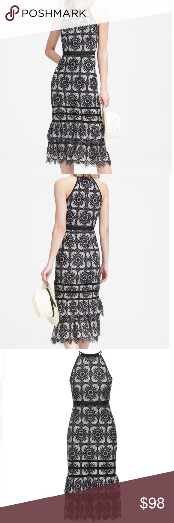 Hp Banana Republic Lace Racerback Midi Dress Racerback Midi Dress Lace Midi Dress Dresses [ 1740 x 580 Pixel ]