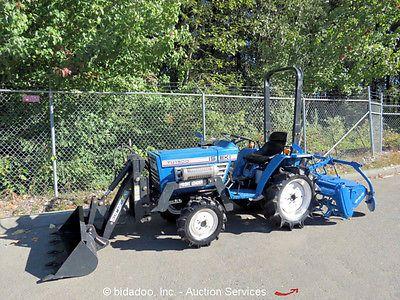 "Iseki TU1500 4WD 4X4 Diesel 3pt Hitch Agricultural Tractor 6 Spd 48"" Rear Tiller https://t.co/PHjiefvARH https://t.co/DMBCaBvEAG"